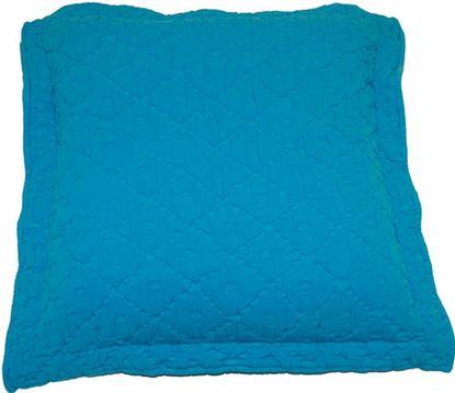Picture of Almofada Pretoria 60x60 Alg. Azul Turquesa