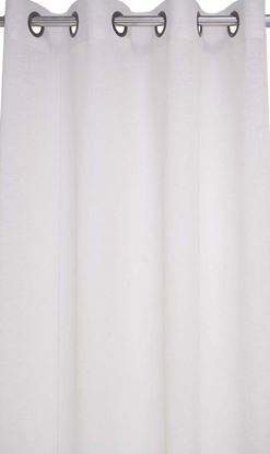 Picture of Par Cortinas 140x250 Natural Organza Poliéster