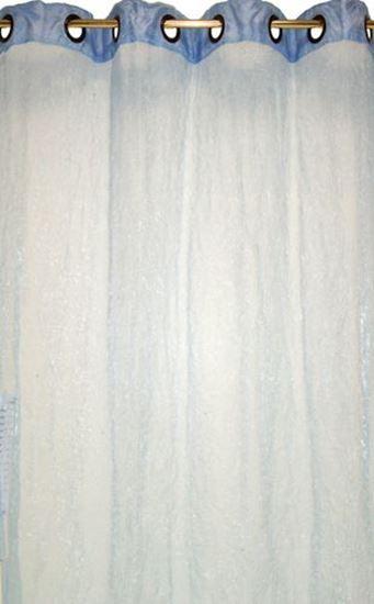 Picture of Par Cortinas 140x250 Organza Azul Claro