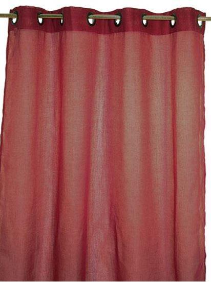 Picture of Par Cortinas 140x250 Bordeaux