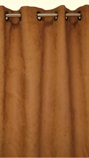 Picture of Par Cortinas 140x250cm Camurça Latte