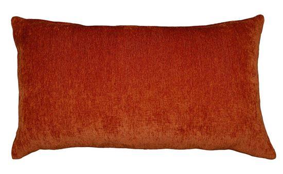 Picture of Par Almofadas Chenille 35x60cm Laranja