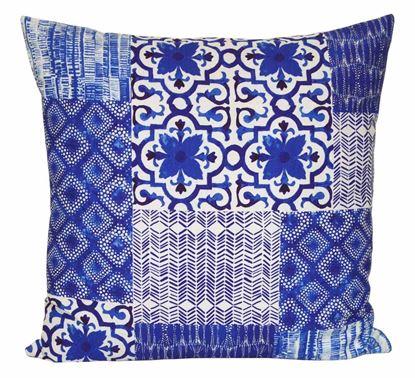 Picture of Par Almofadas 45x45 Azulejos