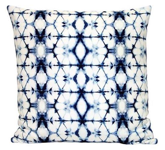 Picture of Par Almofadas 45x45 Tie Dye Azul