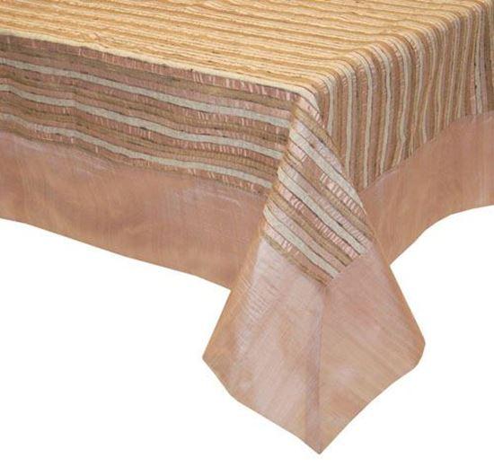 Picture of Toalha Mesa 170x270cm Rosa Seda