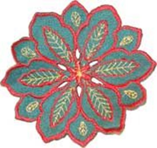 Picture of Dz. Pano Bandeja Red 10cm Verde Poly.