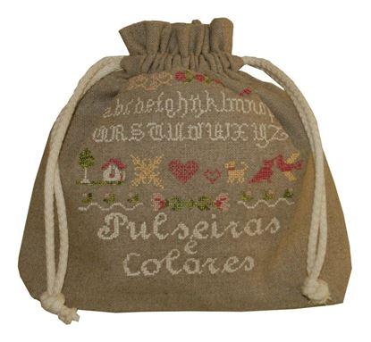 Picture of Saco c/ Cordão ABC Pulseiras e Colares Linho