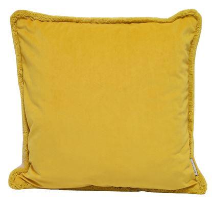 Picture of Par Almofadas 45x45 Amarelo/Natural