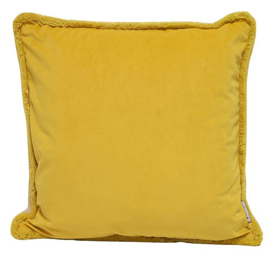 Picture of Par Almofadas 45x45 Amarelo/Natural