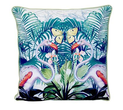 Picture of Par Almofadas 45x45 Flamingos