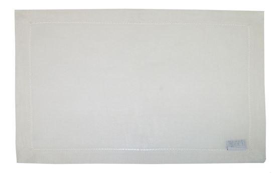 Picture of Par Pano Bandeja 33x48cm Linho Pérola