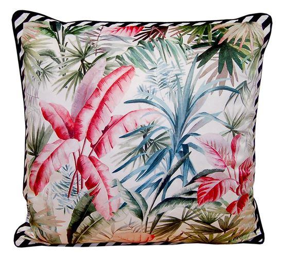 Picture of Par Almofadas 45x45 Veludo Tropical I