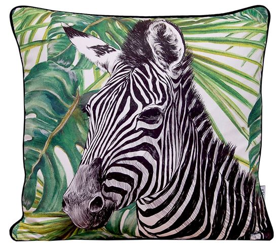 Picture of Par Almofadas 45x45 Zebra