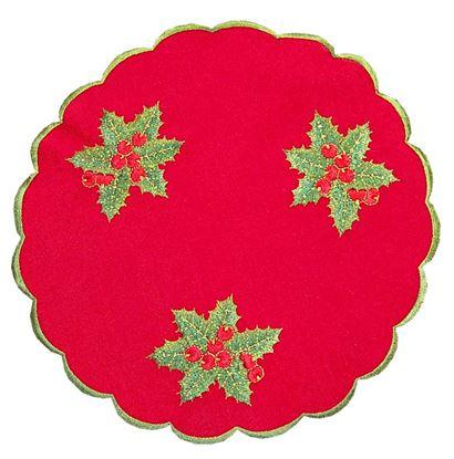 Picture of Cj6 Panos Bandeja Red.30 Azevinho Verm.
