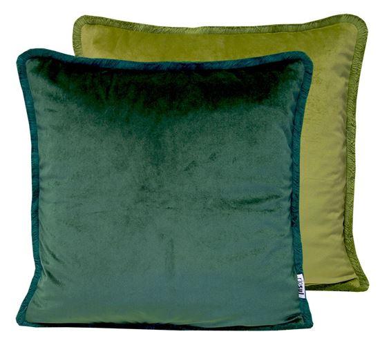 Picture of Par Almofadas 45x45 Veludo 2Tons Verde