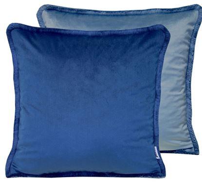 Picture of Par Almofadas 45x45 Veludo 2Tons Azul