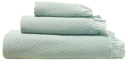 Picture of Jogo Banho VOILE Menta Pastel 3Pçs 100% Alg. Garment Dye