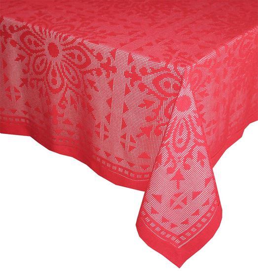 Picture of Toalha Mesa ROSIE 180x250 Vermelho